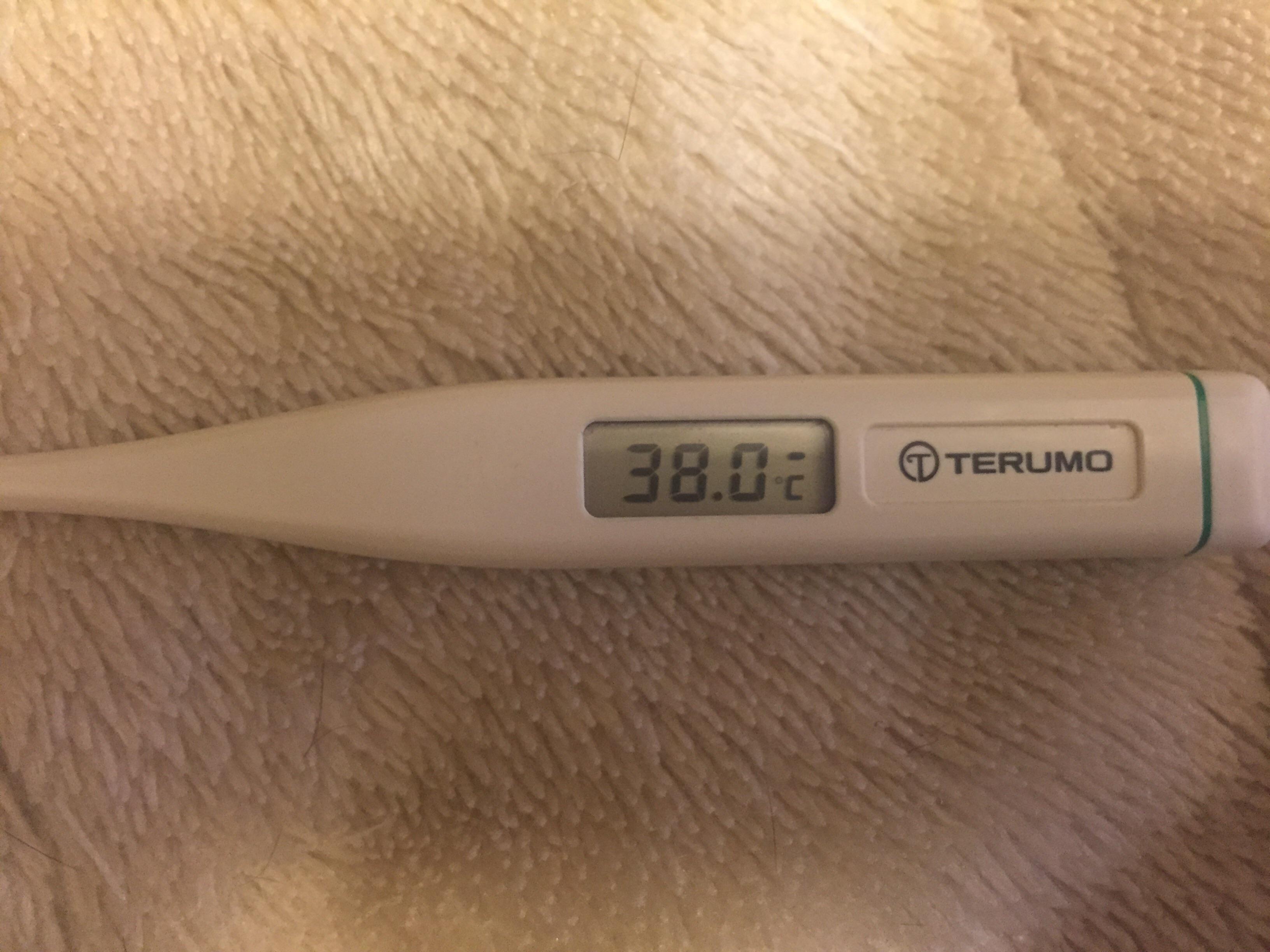 副鼻腔炎で高熱