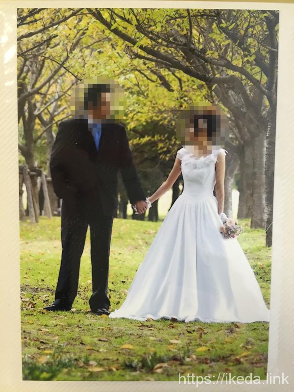 結婚報告はがきは絶対に自宅プリンターで自作プリントしちゃダメ。劣化するよ。