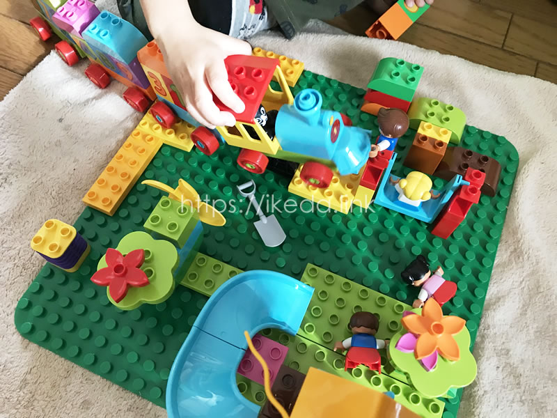 レゴ(LEGO) デュプロ みどりのコンテナ