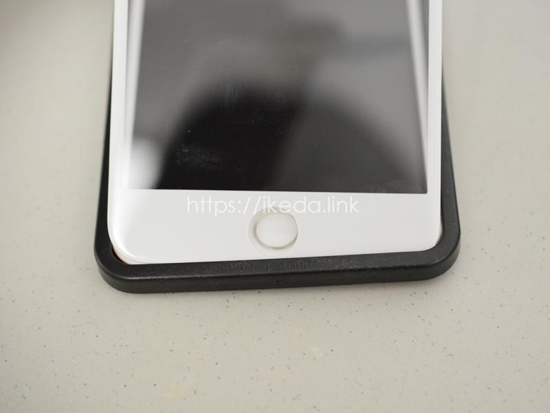 iPhone7Plusの強化ガラス液晶保護フィルム交換。ラウンドエッジ加工で端までカバー