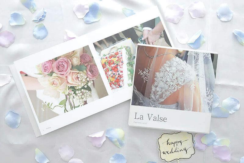 Photobackフォトバックで結婚式のウエディングアルバム
