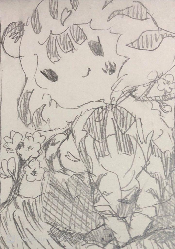 ココナラで年賀状用のオリジナルイラストを描いてもらいました♪